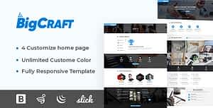 Bigcraft – Business & IT Solution HTML Template
