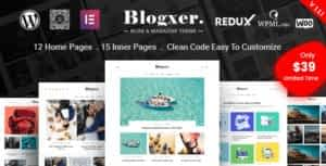 Bloxer – Blog & Magazine WordPress Theme