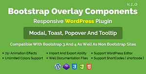 Bootstrap Overlay Components – Responsive WordPress Plugin