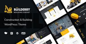 Builderry – Construction and Building WordPress Theme