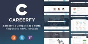 Careerfy – Job Board HTML Template