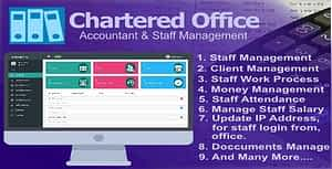 Chartered Office – Accountant & Staff Management