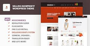 ChurcHope – Responsive WordPress Theme