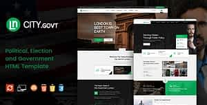 CityGovt – Political and Government HTML Template