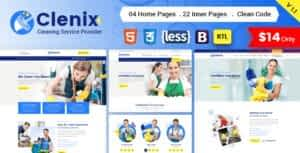 Cleanix – Cleaning Services HTML Template