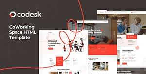 Codesk – Coworking Space HTML Template