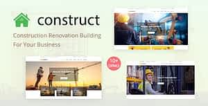 Construct – Construction WordPress Theme