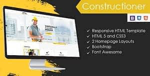 Constructioner – Construction Business HTML Template