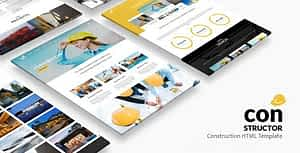 Constructor | Construction HTML Template