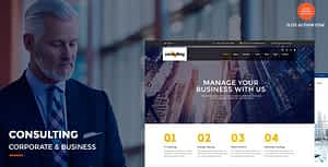 Consulting – Corporate and Business WordPress Theme