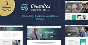 Consultox – Consulting Business WordPress Theme