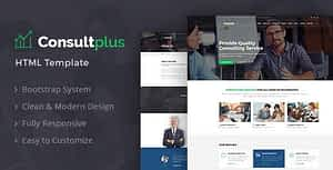 Consultplus : Business Consulting HTML Template