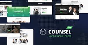 Counsell – Consultancy WordPress Theme
