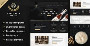 Craft Beer Nation HTML Template