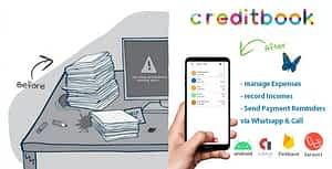 CreditBook | Start Online Credit Android App | PHP Backend