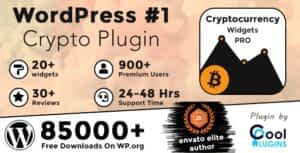 Cryptocurrency Widgets Pro – WordPress Crypto Plugin