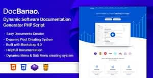 DocBanao – Dynamic Software Documentation Generator PHP Script