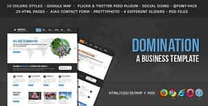 Domination – a Business HTML Template