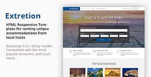 EXTRETION – Local Accommodations HTML Template