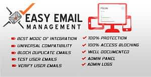 Easy Email Management – Email verification and management