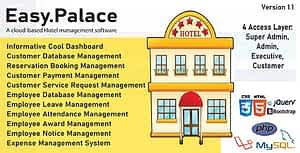 EasyPalace – Hotel Management System