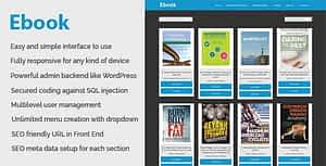Ebook – Online ebook download and management CMS