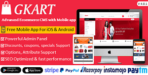 Ecommerce Solutions with Free Mobile App for iOS & Android