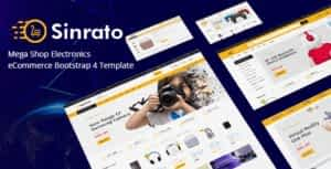 Electronics eCommerce HTML Template – Sinrato