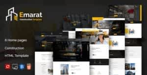 Emarat – Construction and Architecture HTML Template