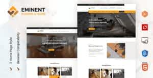 Eminent – Flooring Services HTML Template