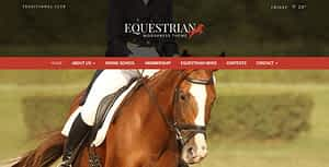 Equestrian – Horses and Stables WordPress Theme
