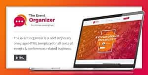 Event Organizer – HTML Template for Conferences