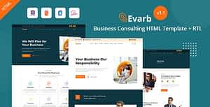 Everb – Business Consulting HTML Template
