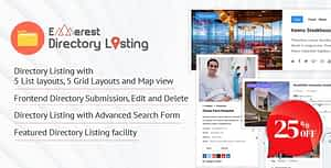 Everest Business Directory – A Complete Business Directory WordPress Plugin