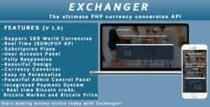 Exchanger | Currency converter API / Realtime CryptoCurrency