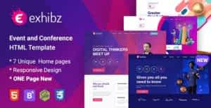 Exhibz – Conference and Event HTML Template
