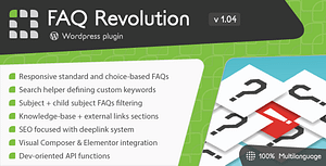 FAQ Revolution – WordPress Plugin