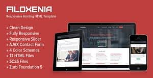 Filoxenia – Responsive Hosting HTML Template