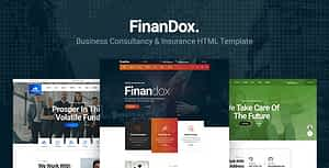 Finandox – Business Consulting and Professional Services HTML Template