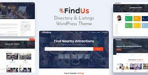 Findus – Directory Listing WordPress Theme