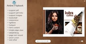 Flipbook WordPress Plugin Ambre