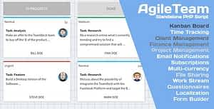 Freelance AgileTeam Office with Kanban