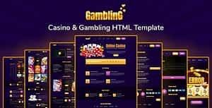 Gambling- Casino & Gambling HTML Template