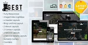Gest – Photography HTML Template