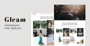 Gleam – Portfolio Photography HTML Template