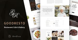 GoodResto – Restaurant WordPress Theme + Woocommerce