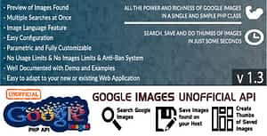 Google Images – Unofficial API