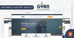 Gyan – Educational HTML Template