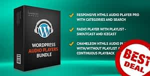 HTML5 Audio Players WordPress Plugins Bundle