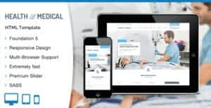 Health & Medical HTML Template
